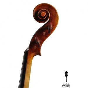 Viola 40.5 cm. Voluta. Modelo A. Rosso