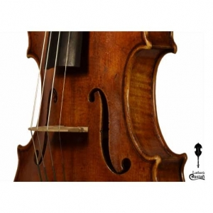 """Avejentado Detalles. Violín Modelo Guarneri """"del Gesù"""" 1741"""